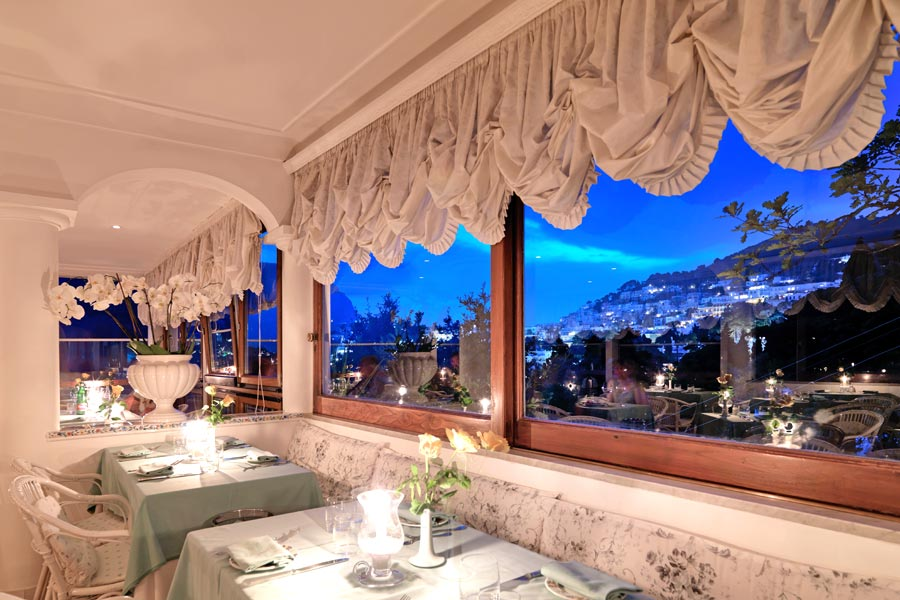 Terrazza Brunella A Romantic Restaurant On Capri